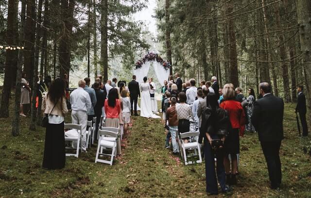 Vestuviu ceremonija miske