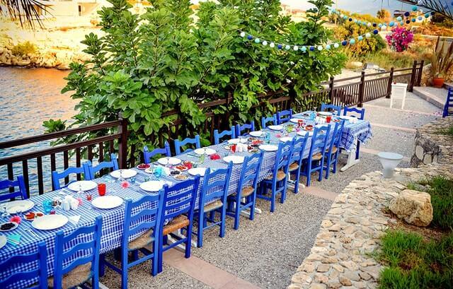 Vestuviu vakariene Kipre